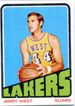 Jerry West 1968-69 NBA Properties Unsigned Card