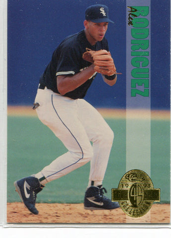 Alex Rodriguez 1993 Classic Four Sport Collection Rookie Card