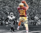 Nick O'Leary Autographed Touchdown vs Gators Spotlight 8x10 Photo