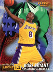 Kobe Bryant 1997 Fleer Lucky 13 Unsigned Card