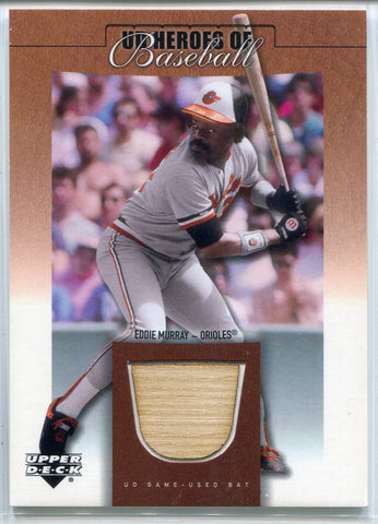 Eddie Murray 2001 Upper Deck Bat Card