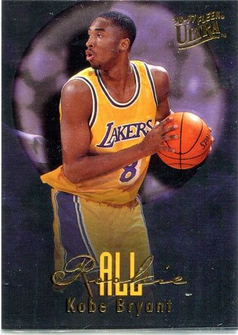 Kobe Bryant 1997 Fleer All Rookie Unsigned Card