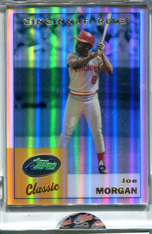 Joe Morgan 2002 Topps Classic Unsigned Sealed Card