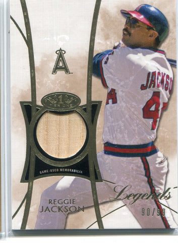 Reggie Jackson 2014 Topps Tier One Bat Card