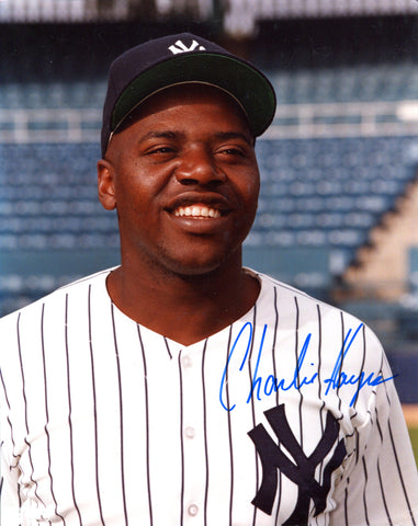 Charlie Hayes Autographed 8x10 Photo