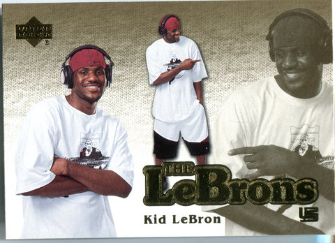 LeBron James 2006-07 Upper Deck The Lebrons Card