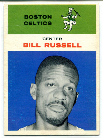 Bill Russell 1961 Fleer Card #38
