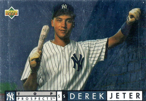 Derek Jeter 1994 Upper Deck Unsigned Top Prospects Card