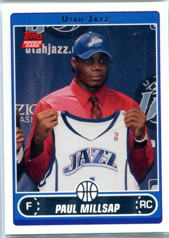 Paul Millsap 2006 Topps Unsigned Rookie Card