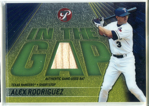 Alex Rodriguez 2002 Topps Game-Used Bat Card #302/425