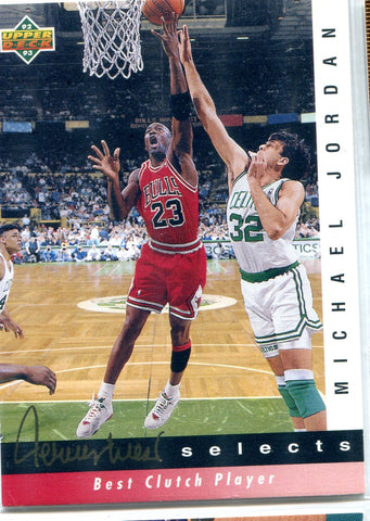 Michael Jordan 1992 Upper Deck Card