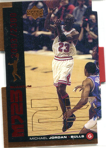 Michael Jordan 1999 Upper Deck Card #2093/2300