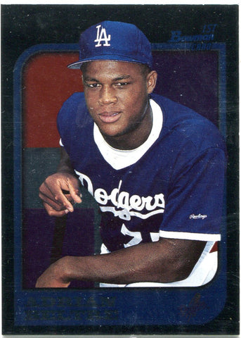 Adrian Beltre 1997 1st Bowman Black Border Unsigned Card