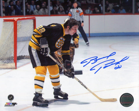 Brad Park Autographed Bruins 8x10 Photo