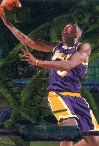 Kobe Bryant 1997 Fleer Metal Unsigned Card