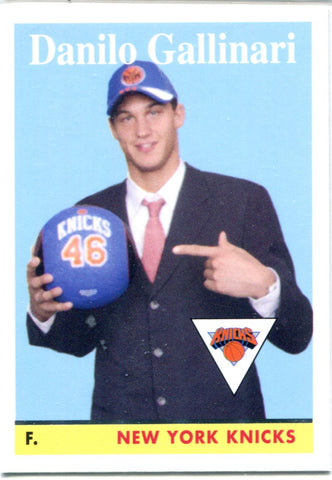 Danilo Gallinari 2008 Topps Unsigned Rookie Card