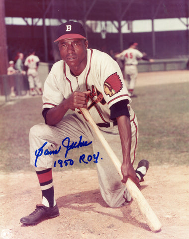 Sam Jethroe Autographed 8x10 Photo