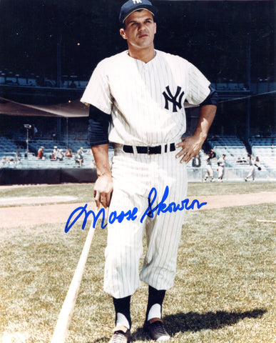 Moose Skowron Autographed 8x10 Photo