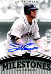 Jim Thome 2008 Upper Deck Milestones Autographed Card #21/25