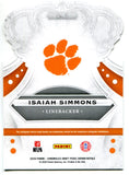 Isaiah Simmons 2020 Panini Chronicles Draft Picks Crown Royale Rookie Card