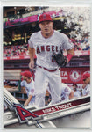 Mike Trout 2017 Topps Holiday Insert Card #HMW25