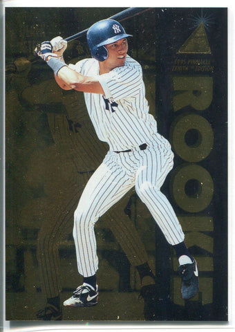 Derek Jeter 1995 Pinnacle Zenith Edition Rookie Card