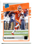 Tee Higgins 2020 Panini Chronicles Draft Picks Donruss Rookie Card