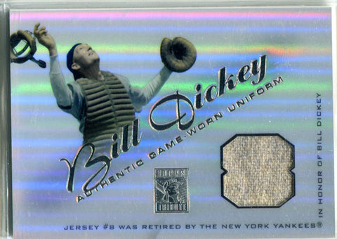 Bill Dickey 2001 Topps Game Worn Relic/Unsigned Card