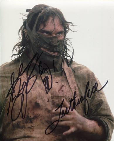 "Andrew Bryniarski ""Leatherface"" Autographed Texas Chainsaw Massacre 8x10 Photo"