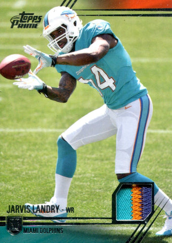 Jarvis Landry 2014 Topps Prime Rookie Jersey Card