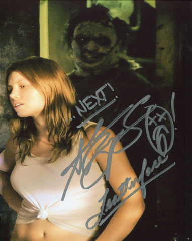 "Andrew Bryniarski ""Leatherface"" ""...Next!"" Autographed Texas Chainsaw Massacre 8x10 Photo"
