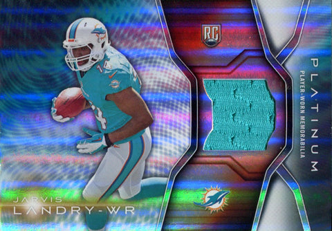 Jarvis Landry 2014 Topps Platinum Rookie Jersey Card
