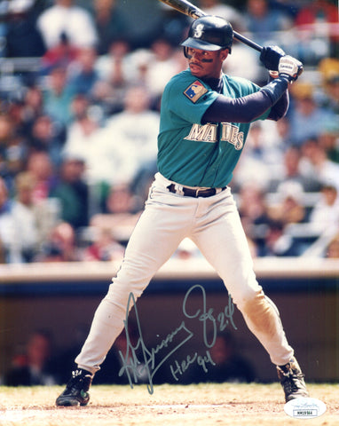"Ken Griffey Jr. ""HRC 94"" Autographed 8x10 Photo (JSA)"