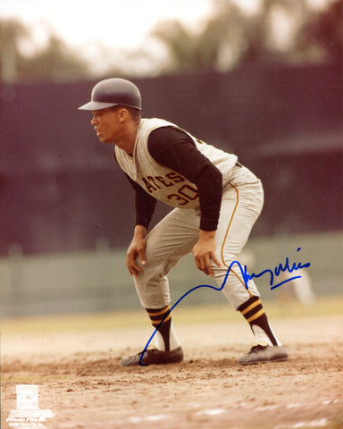 Maury Wills Autographed 8x10 Photo