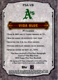 Vida Blue 2012 Topps Five Star AUtographed Card #27/208