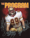 "Andrew Bryniarski ""Lattimer #99"" ""Place @ the Table"" Autographed The Program 8x10 Photo. Signed in silver sharpie across the front of the photo. Autograph is authenticated by Hollywood Collectibles, and will be accompanied by a COA from Hollywood Collecti"