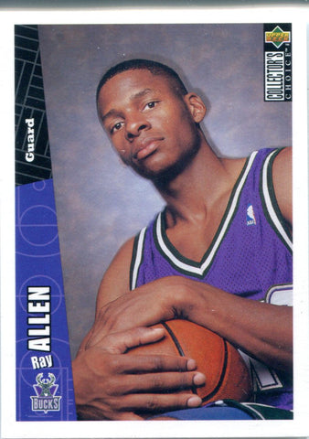 Ray Allen 1996 Upper Deck Collector's Choice Unsigned Card