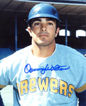 Danny Walton Autographed 8x10 Baseball Photo