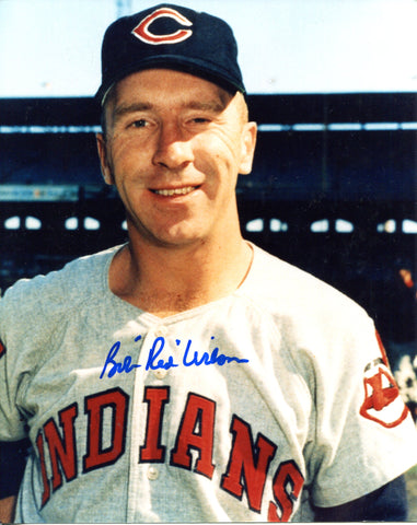 "Bob ""Red"" Wilson Autographed 8x10 Photo"