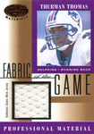 Thurman Thomas 2001 Leaf Certified Jersey Card