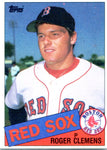 Roger Clemens 1985 Topps Unsigned Card