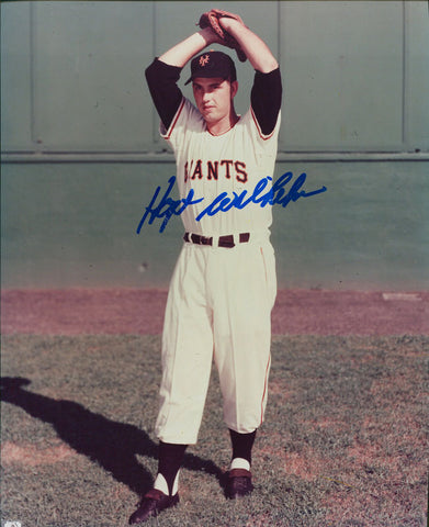Hoyt Wilhelm Autographed 8x10 Photo
