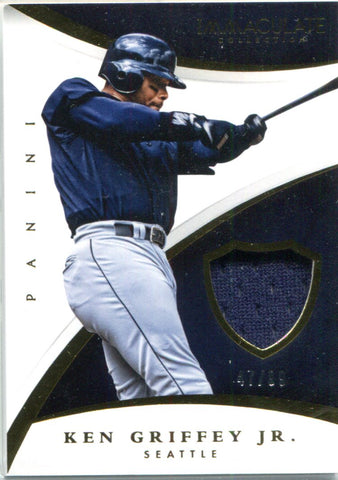 Ken Griffey Jr. 2015 Panini Immaculate Collection Game Worn Material #47/99
