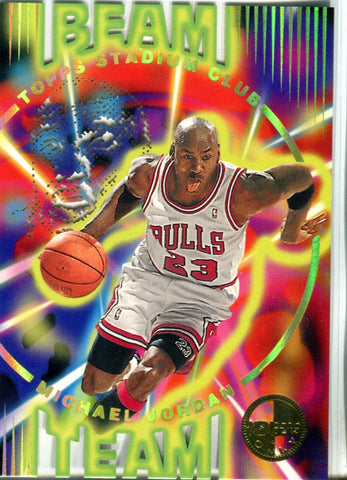 Michael Jordan 1994 Topps Stadium Club Card