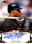 Frank Thomas 2013 Leaf Sports Heroes Autographed Card