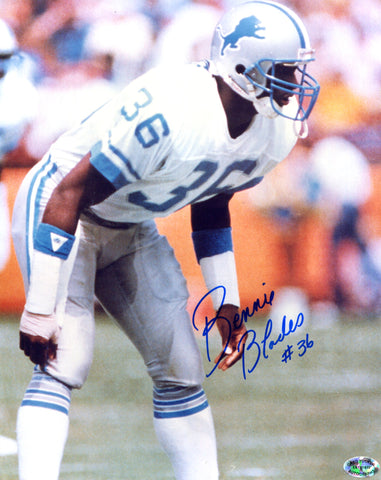 Bennie Blades Autographed 8x10 Football Photo