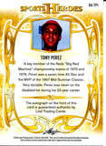 Tony Perez 2013 Leaf Sports Heroes Autographed Card #1/3