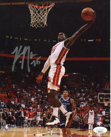 Kendrick Nunn Autographed Dunk Vs Grizzlies 8x10 Photo (JSA)