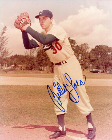 Billy Loes Autographed 8x10 Photo