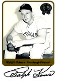 Ralph Kiner 2001 Fleer Greats of the Game Autographed Card